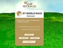 """Werbung: """"EY World Race"""""""